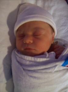 newborn baby Iris