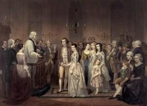 colonial wedding